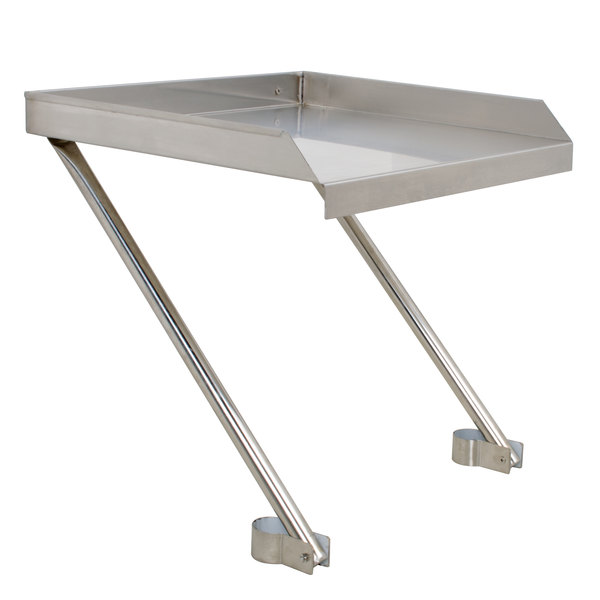 "Regency 24"" x 24"" 18-Gauge Stainless Steel Detachable Drainboard"