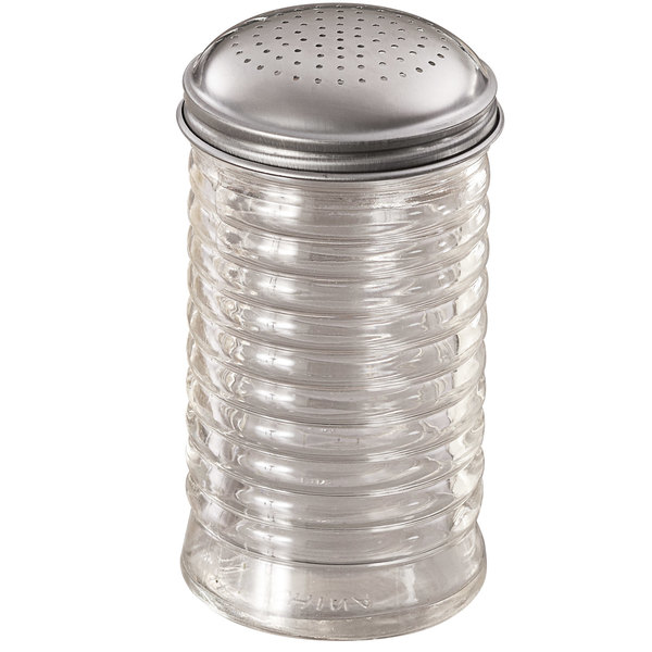 American Metalcraft BEE318 Shaker Glass with Spice Top Capacity 12oz Beehive