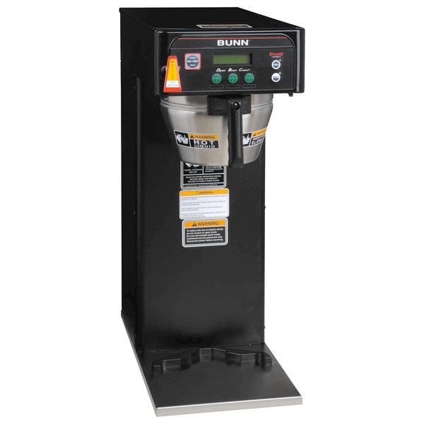 Bunn 36600.0004 BrewWISE ICB-DV Black Infusion Coffee Brewer - Dual Voltage