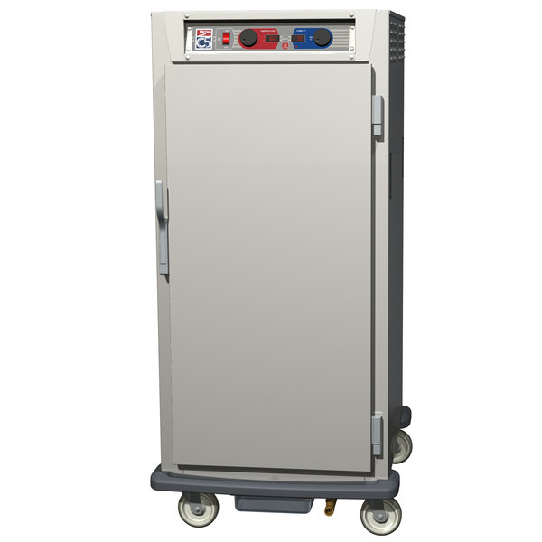 Metro C597-NFS-U C5 9 Series Reach-In Heated Holding and Proofing Cabinet - Solid Door Main Image 1