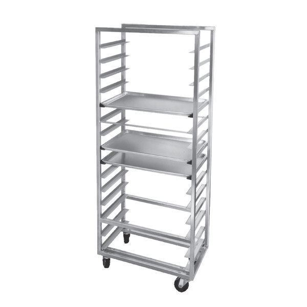 Channel 411A-OR Side Load Aluminum Bun Pan Oven Rack - 20 Pan