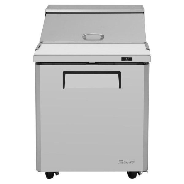 "Turbo Air MST-28 28"" 1 Door Mega Top Refrigerated Sandwich Prep Table"