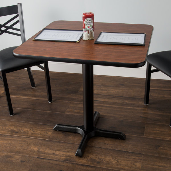 30/'/' X 48/'/' RECTANGULAR NATURAL LAMINATE TABLE TOP W// 22/'/' X 30/'/' TABLE HT BASE