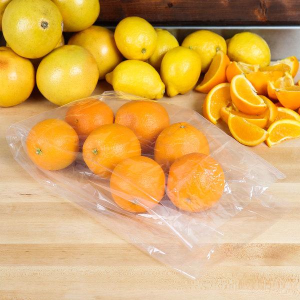 """Elkay Plastics 10G-076015 Plastic Food Bag 7"""" x 6"""" x 15"""" - 1000/Box"""