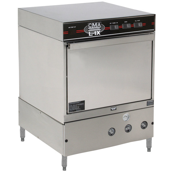 CMA Dishmachines L-1X Undercounter Dishwasher Low Temperature 30 Racks / Hour - 115V