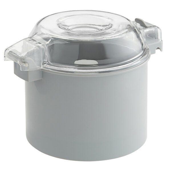 """Avamix CB3S 3 Qt. Gray Plastic Bowl and Smooth """"S"""" Blade for 1 hp Food Processors Main Image 1"""