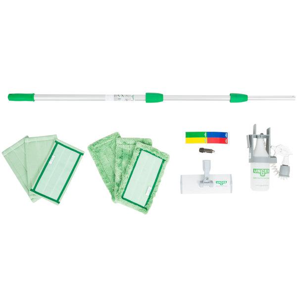 Unger CK053 10-Piece Indoor Window Cleaning Kit