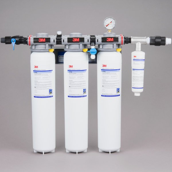 3M Water Filtration Products DP390 Dual Port Water Filtration System - .2 Micron Rating and 15 GPM Main Image 1