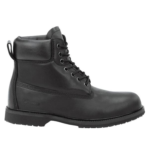 Black Waterproof Soft Toe Non-Slip