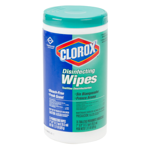 Clorox Disinfectant Cleaner and Deodorizer Wipes - 6/Case