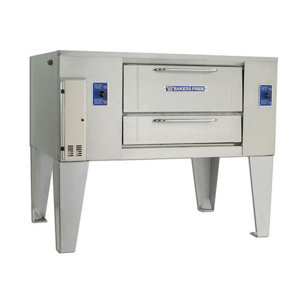 Bakers Pride D-125 Super Deck Liquid Propane Single Deck Gas Oven