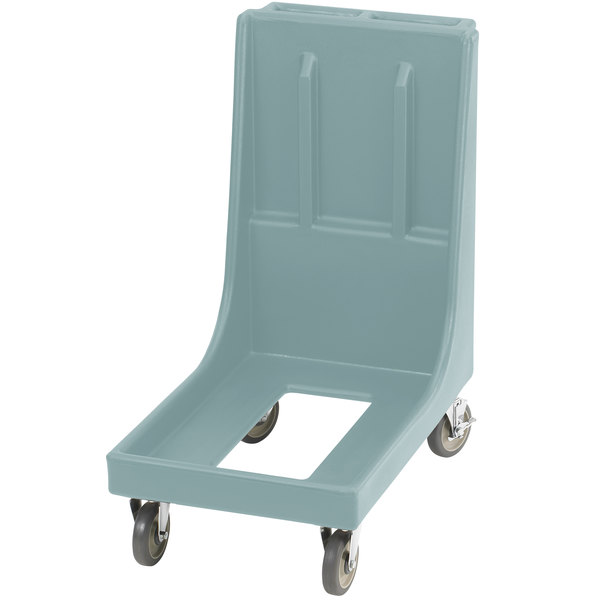 Cambro CD100H401 Slate Blue Camdolly for Cambro Camcarriers and Camtainers with Handle
