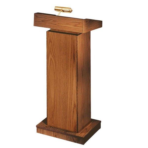 Oklahoma Sound 810MO Medium Oak Finish Orator Lectern