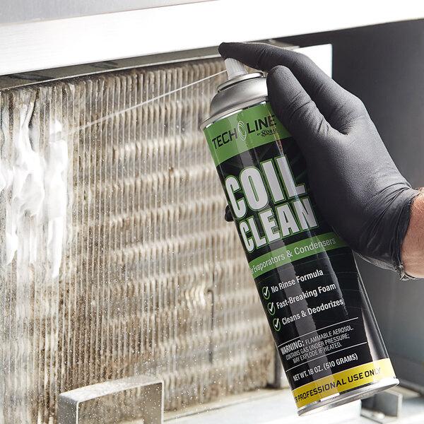 Noble Chemical Tech Line 18 oz. No-Rinse Foaming Evaporator / Condenser Aerosol Coil Cleaner Main Image 2