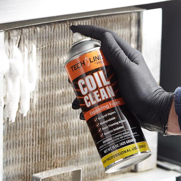 Noble Chemical Tech Line 15 oz. Expanding Foam Aerosol Coil Cleaner Main Image 2