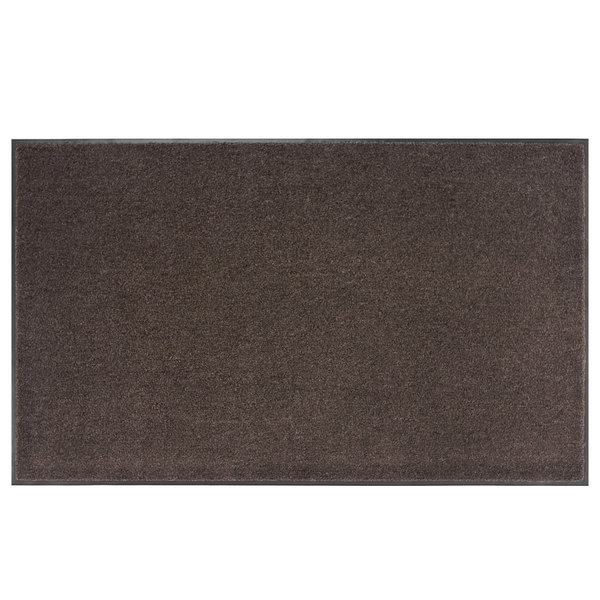 Lavex Janitorial 6' x 60' Brown Olefin Indoor Entrance Mat Roll Main Image 1