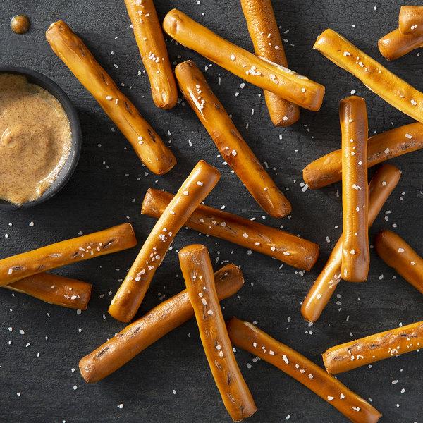 """J & J Snack Foods SuperPretzel 4"""" Soft Pretzel Fries - 345/Case Main Image 1"""