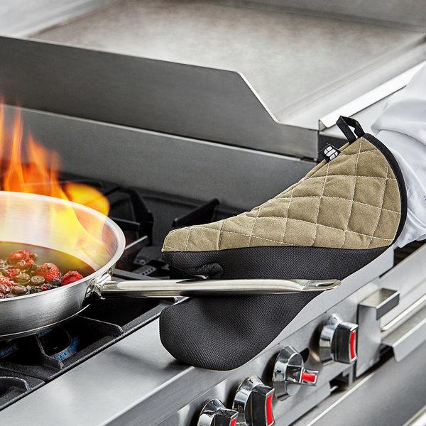 "San Jamar 810CM15 15"" Best Grip Oven Mitt Main Image 4"