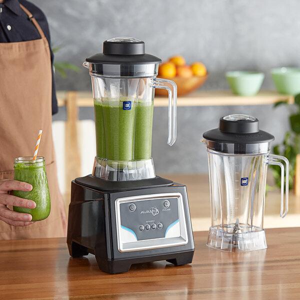 Avamix BX2100K 3 1/2 hp 64 oz. Commercial Food Blender with Keypad and 2 Jars Main Image 4