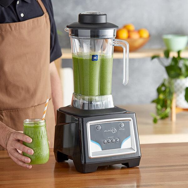 Avamix BX2100K 3 1/2 hp 64 oz. Commercial Food Blender with Keypad Main Image 4