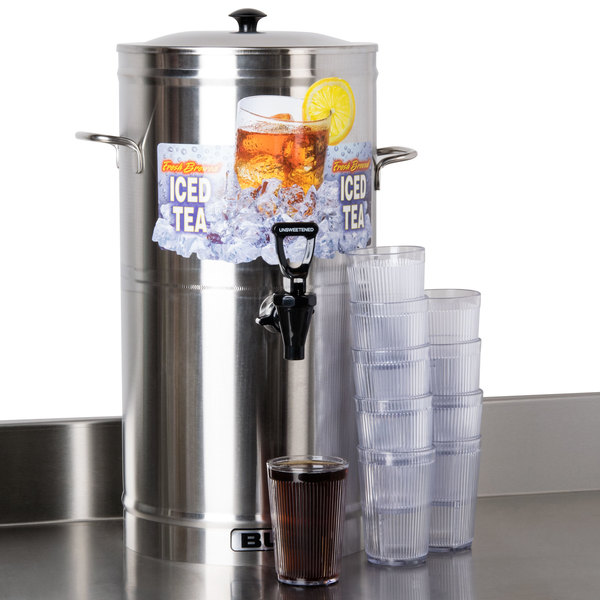 Bunn 33000.0000 TDS-3 3 Gallon Round Iced Tea Dispenser Main Image 14