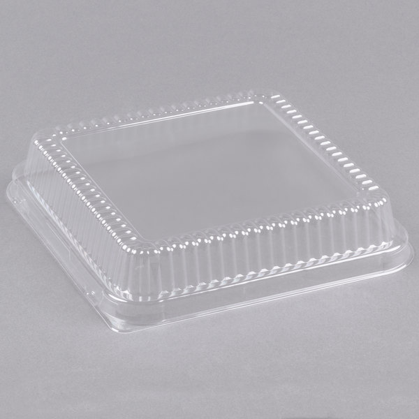 Durable Packaging P1155 500 Clear Lid For 8 Quot Square Foil