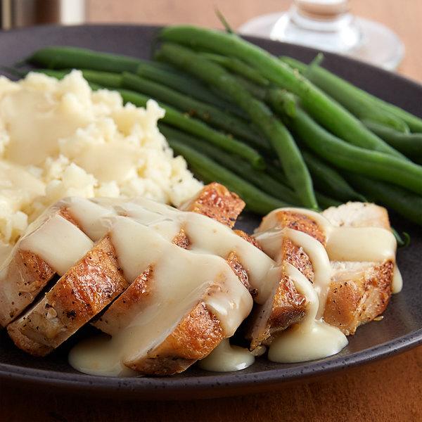 Vanee 550VD 49 oz. Can Roasted Chicken Gravy - 12/Case Main Image 2