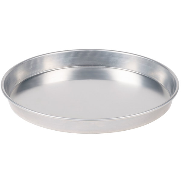 "American Metalcraft HA90131.5 13"" x 1 1/2"" Heavy Weight Aluminum Tapered / Nesting Pizza Pan"