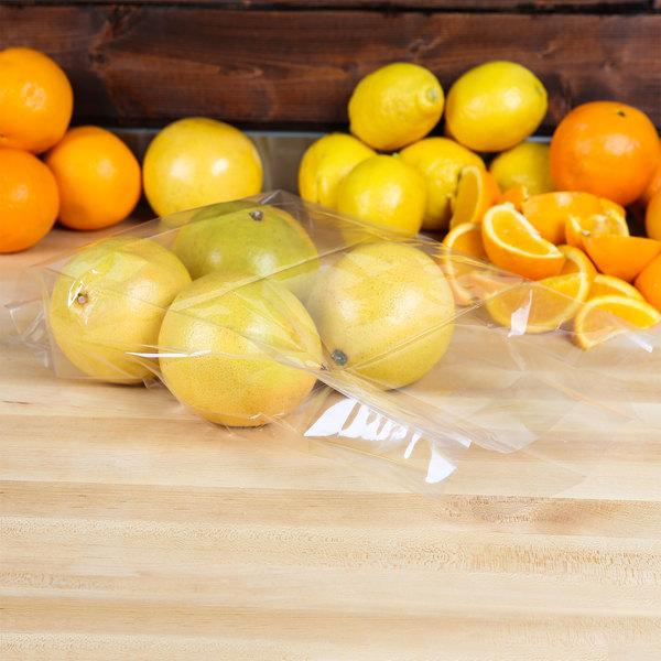 "LK Packaging P15G08315 Plastic Polypropylene Food Bag 8"" x 3"" x 15"" - 1000/Box Main Image 3"