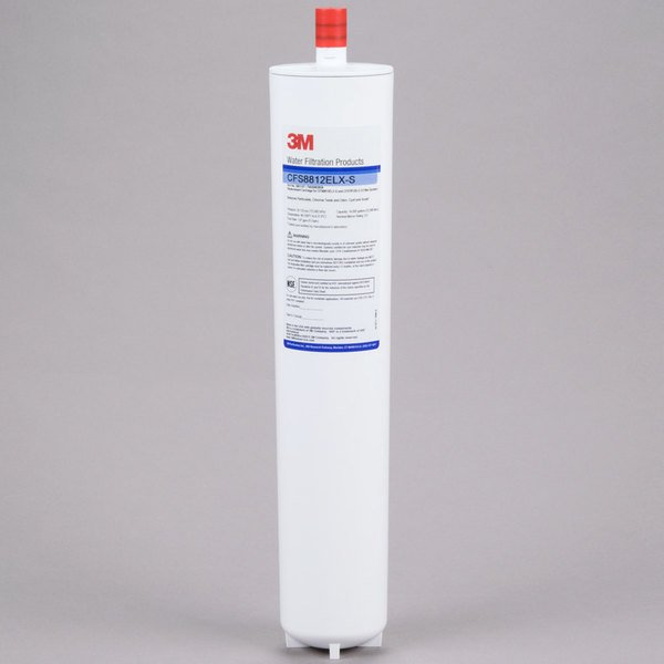 """3M Water Filtration Products CFS8112ELX-S 17 1/8"""" Replacement Cyst Reduction Cartridge with Scale Inhibition - 0.5 Micron and 1.67 GPM"""