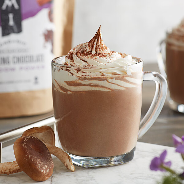 Numi Organic Shroom Power Drinking Chocolate 1 lb. Bag Main Image 2