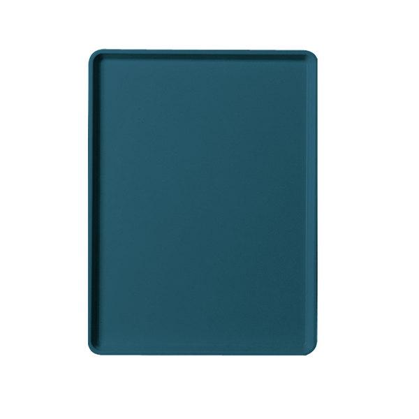 "Cambro 1219D401 12"" x 19"" Slate Blue Dietary Tray - 12/Case"