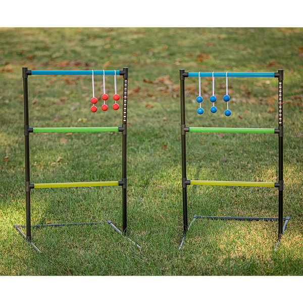 Triumph 35-7015-2 Ladder Toss Game with 2 Sets of 3 Soft Bolas Main Image 2