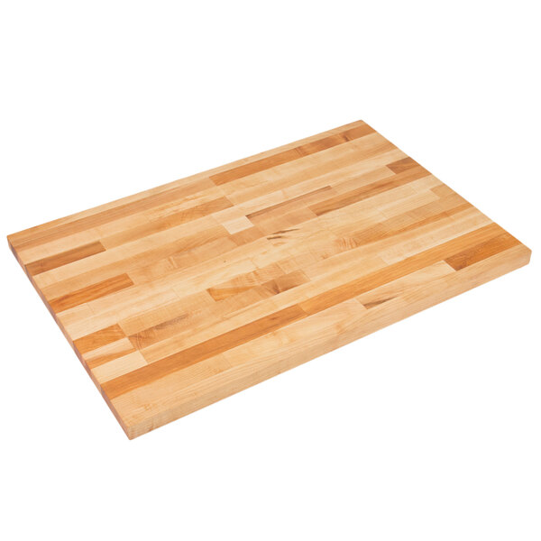 """John Boos & Co. SC011-O Replacement Wood Top for 30"""" x 48"""" Work Tables Main Image 1"""