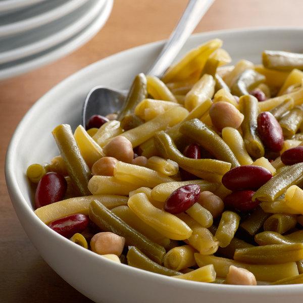 Furmano's #10 Can Four Bean Salad - 6/Case Main Image 2