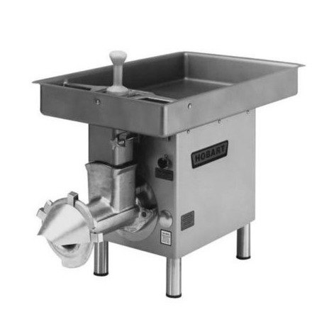 Hobart 4732-35-STD # 32 Meat Chopper with Feed Pan - 3 hp Main Image 1