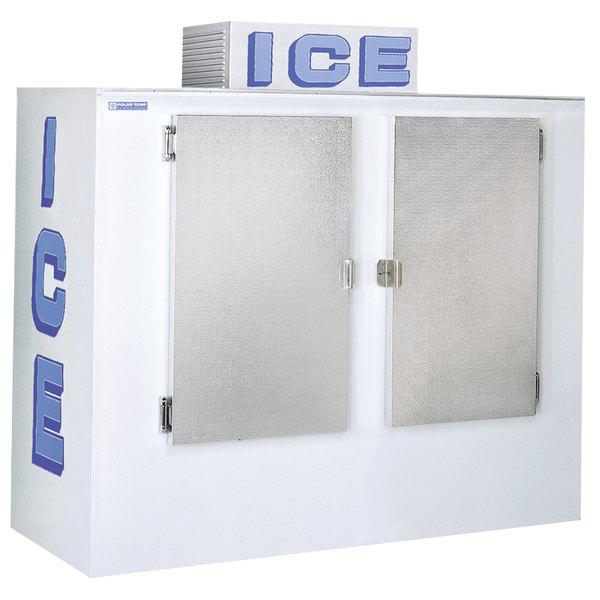 Polar Temp 670CW Cold Wall Outdoor Ice Merchandiser - 65 cu. ft.