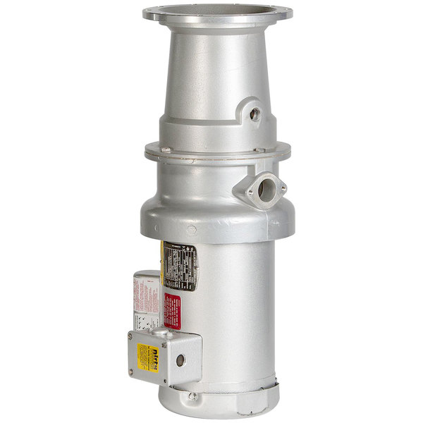 Hobart FD4/75-4 Commercial Garbage Disposer with Long Upper Housing - 3/4 hp, 120/208-240V Main Image 1