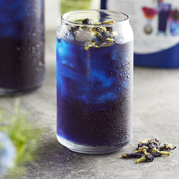 Wild Hibiscus Whole Dried Butterfly Pea Flowers 2 oz. Bag Main Image 2