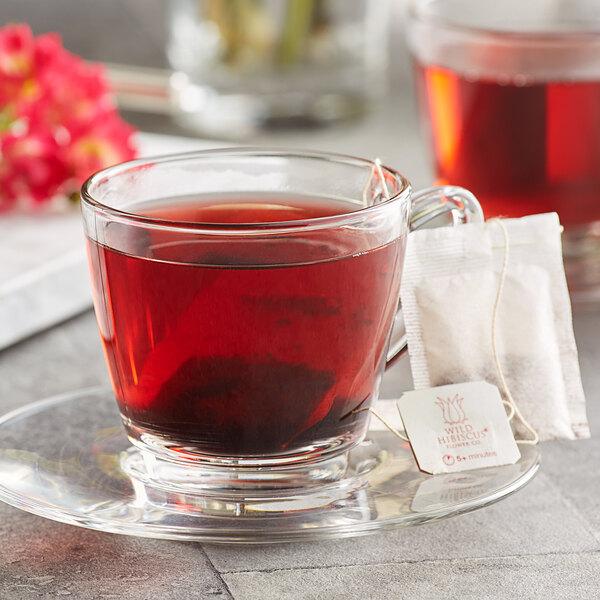 Wild Hibiscus Heart-Tee Hibiscus Herbal Tea Bag - 20/Box Main Image 2