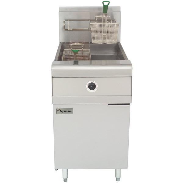 Frymaster MJ1CF Liquid Propane Floor Fryer 60-80 lb. Main Image 1