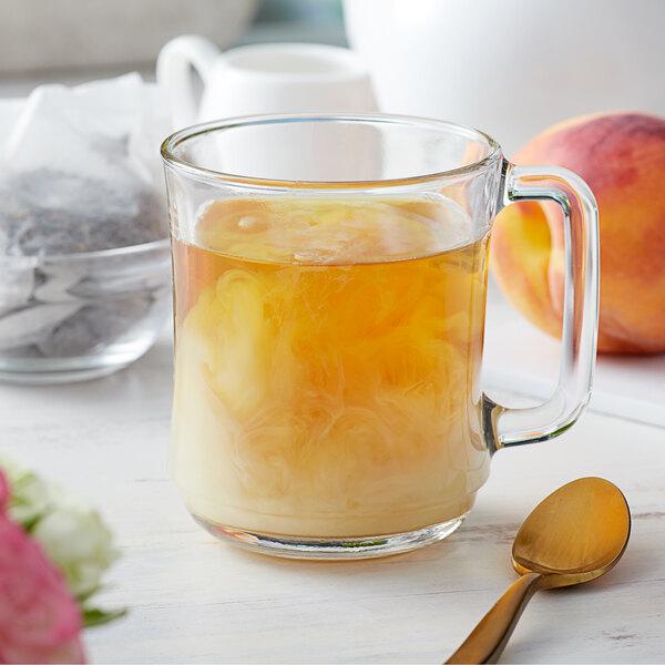 Bossen Peach Oolong Ground Tea Bags - 50/Pack Main Image 2