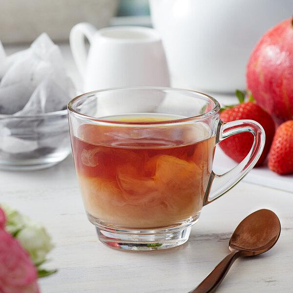 Bossen Pomegranate Strawberry Black Ground Tea Bags - 50/Pack Main Image 2