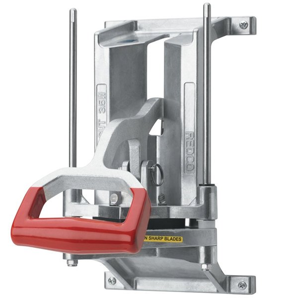 Vollrath 15026 Redco InstaCut 3.5 8 Section Fruit and Vegetable Corer - Wall Mount