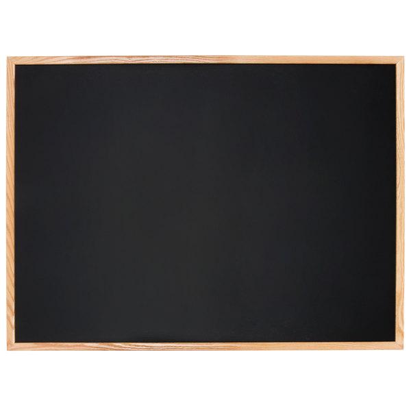 Aarco Oc3648nt B Oak 36 X 48 Oak Frame Black Chalk Board