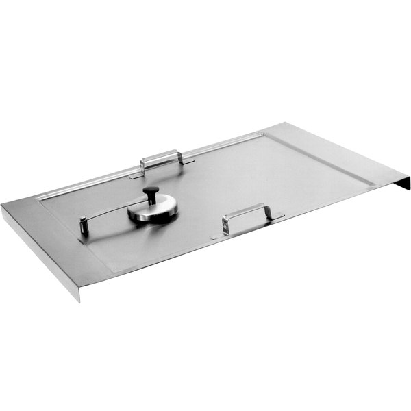 Cleveland SCL10 Countertop Rectangular Tilt Skillet Lift-Off Cover Main Image 1