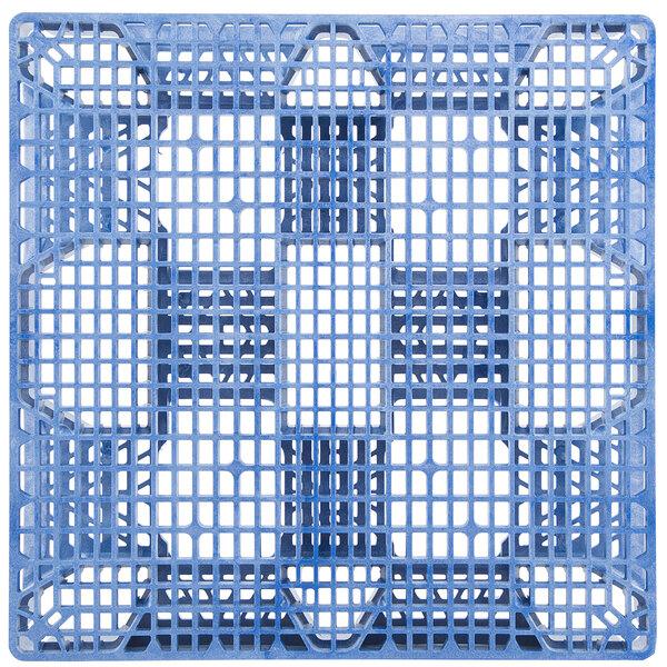 "Regency HDSC 48"" x 40"" Blue Polyethylene Stackable Pallet Main Image 1"