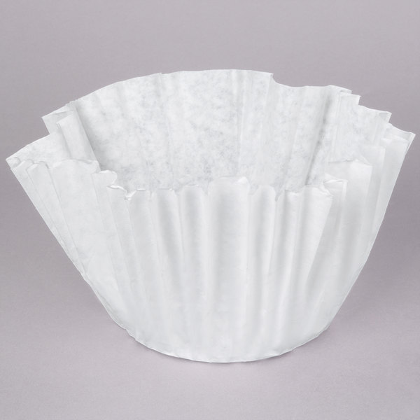 "Bunn 20124.0000 19"" x 7 1/4"" 3 Gallon Urn Style Coffee Filter - 252/Case"