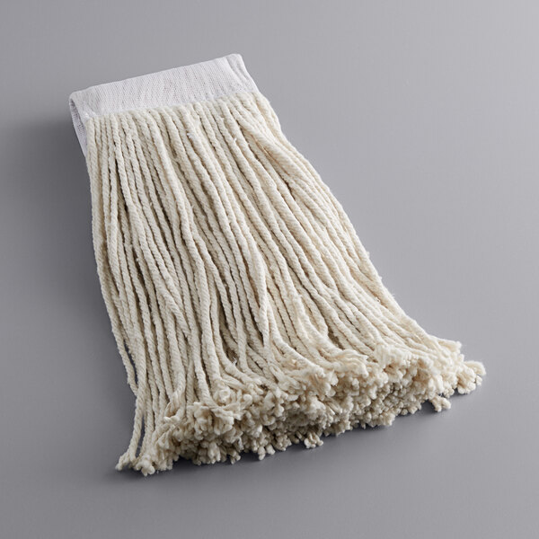 Lavex Janitorial 16 Oz 24 Cotton Cut End Mop Head With 5 Band