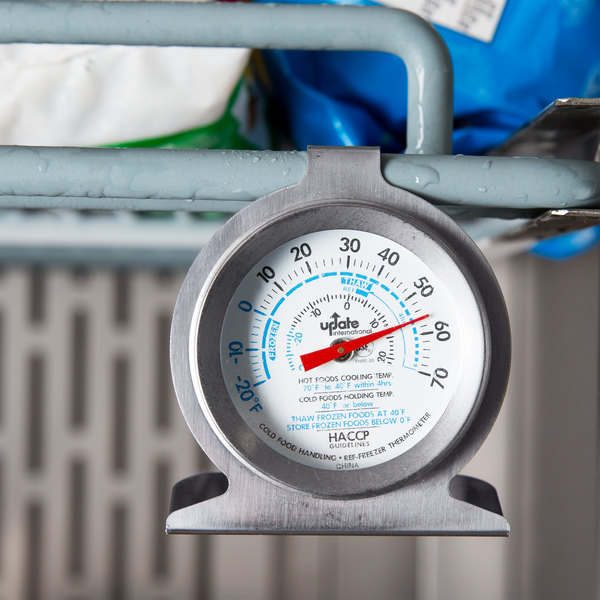 """2"""" Refrigerator / Freezer Dial Thermometer NSF Listed"""